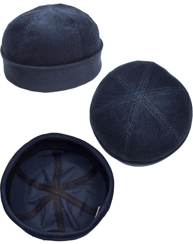 New York Hat纽约帽子盖子#7934 Corduyoy Thug kodeyuroisagu Navy Black Rust帽子绅士妇女人分歧D男女兼用