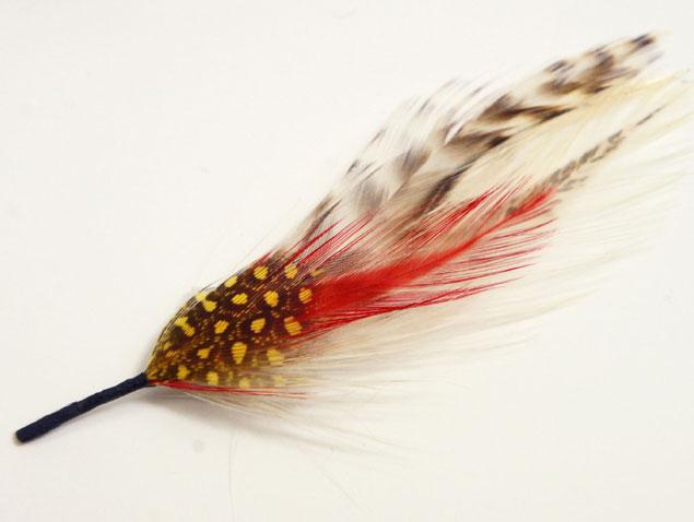 リボン部分に取り付けられる羽飾り 羽飾りフェザー 羽 ハットピン フェザーチャーム フェザートップ 帽子 ハット 紳士 評判 婦人 ストローハット レディース 取外り 男女兼用 フェルトハット 売却 メンズ