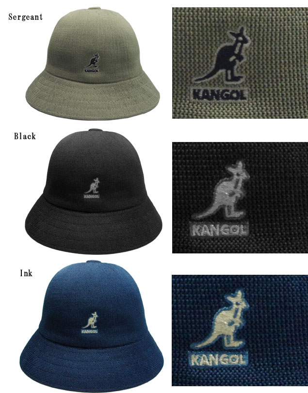 5fb8b2d56 KANGOL TROPIC CASUAL KANGOL tropic casual MALACHITE WHITE NU SERGEANT BLACK  INK Hat Boler Hat bucket Hat Street hat men's women's unisex men women's ...