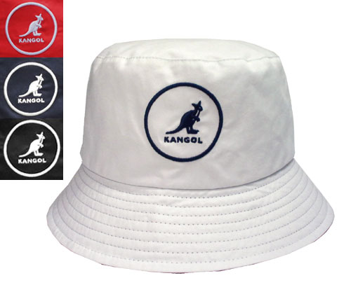 KANGOL SMU COTTON BUCKET KANGOL esemeucottenba gasket WHITE RED NAVY BLACK  another note bucket Hat Cap mens Womens unisex 2e35168819f