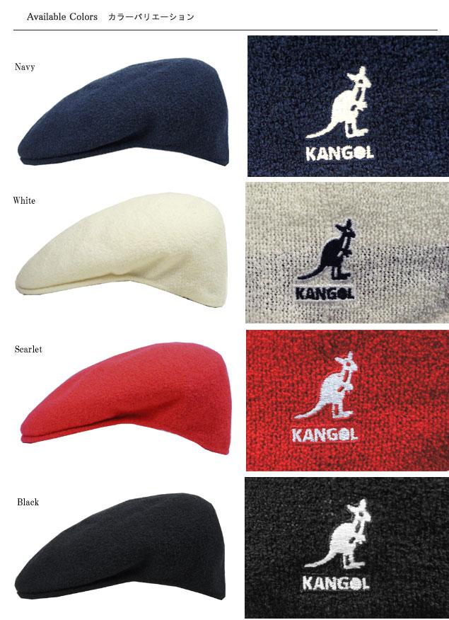 cef3a8d1ff2 KANGOL Hat Cap 504 KANGOL BERMUDA Bermuda 504 Navy White Scarlet Black  men s women s