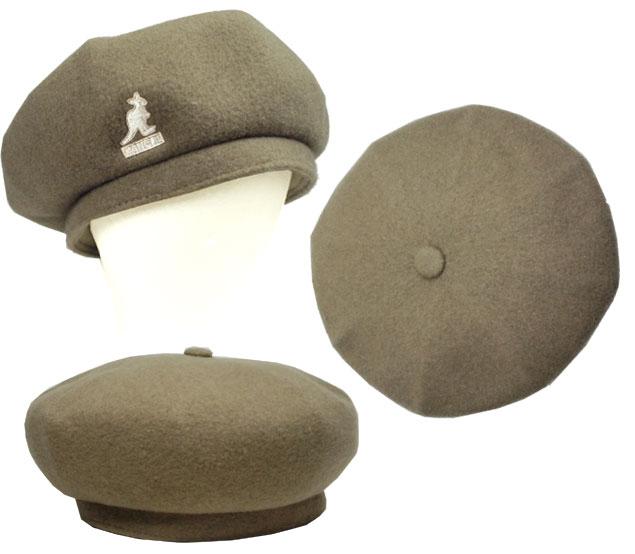 KANGOL Wool Jax Beret KANGOL beret wall jacks Concrete Black Hat beret mens Womens unisex