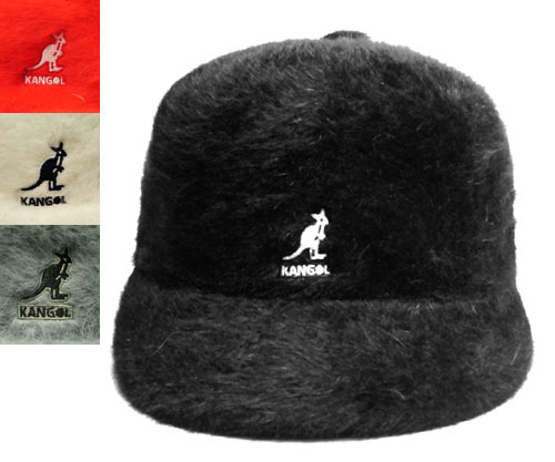 KANGOL FURGORA LINKS KANGOL fargolarinks Black Scarlet Cream Slate Grey fur  Cap Fagor this mens Womens unisex 2e5c486571b