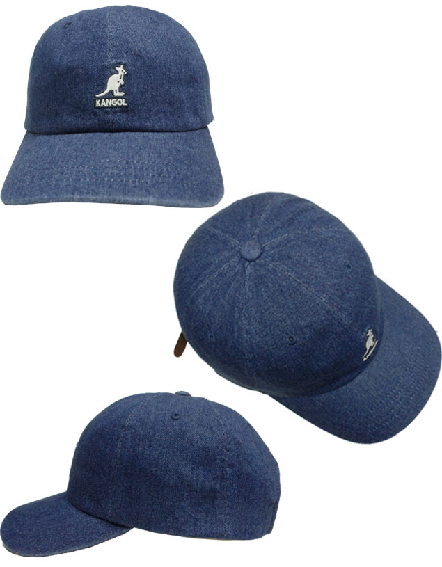 335a5d72f87 prast-inc  KANGOL SMU Denim Baseball perception goal denim baseball ...