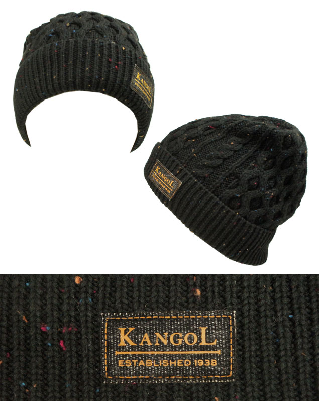 3c1f86bc4ec prast-inc  KANGOL KANGOL NEP CABLE PULL ON NEP cable Redwing Black ...
