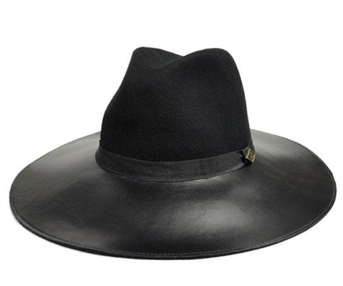 93ee5afe4345e Goorin Brothers Goorin brothers Miss Mei Miss Mae Black Hat Hat felt Hat  leather turu collar length gentleman Lady mens Womens unisex