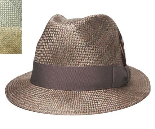 送料無料 Bailey ベイリー Hollywood Series 63211 TOLEDO トレド AloeMix RustMix 帽子 ストロー ハット 中折れ 麦わら メンズ レディース 男女兼用