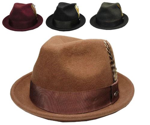 eab51f9a1  Bailey Bailey #3831 CLOYD Croyde PECAN OXBLOOD BLACK GRAY hats felt hats  caps Hat gentlemen ladies mens Womens unisex