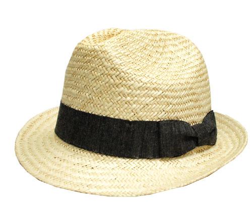 送料無料 Bailey ベイリー #3831 FERNALES Natural 帽子 ストローハット 中折れハット 麦わら帽子 ヤシ 天然草木 紳士 婦人 メンズ レディース 男女兼用