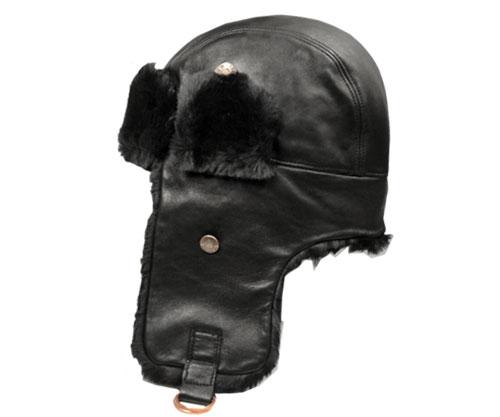 Bailey ベイリー 25105 VEGA ベガ トラッパー 防寒帽子 ロシア帽 耳あて付き Black 黒 エスキモー ファー帽子 紳士 婦人 メンズ レディーズ 男女兼用