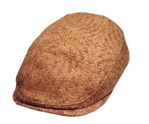 送料無料 Bailey ベイリー #90074 TURLOCK STRAW 帽子 ハンチング だまし絵 木目 プリント 紳士 婦人 メンズ レディース 男女兼用
