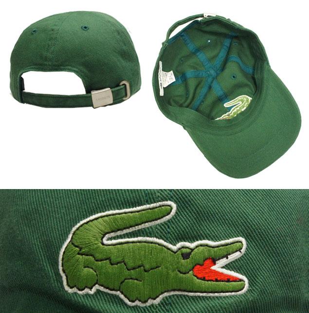 7a8227a32f3 LACOSTE Lacoste 6 Cap L3935 green blue grey off-white black hat low  baseball cap men women men women unisex