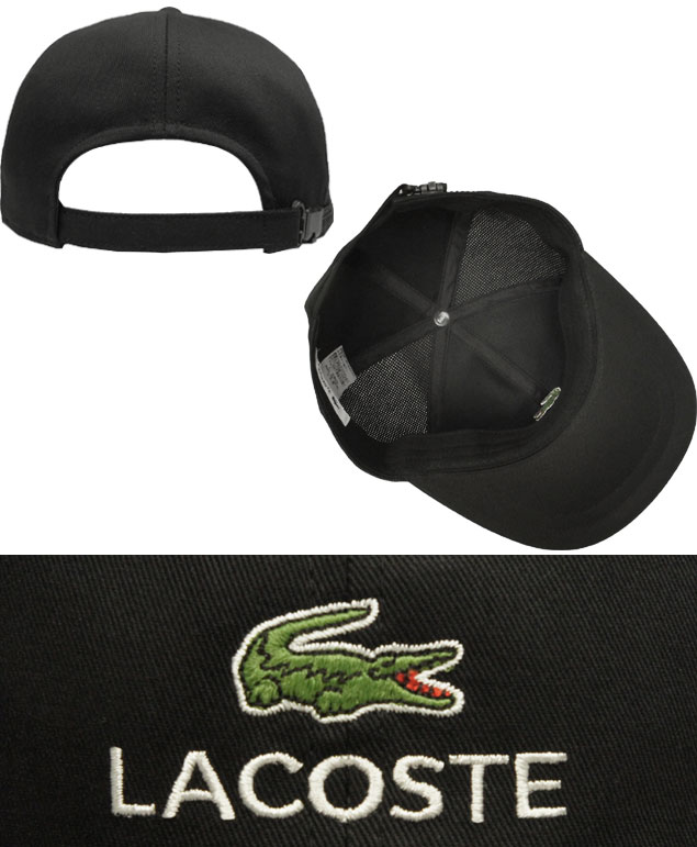 5ef8c9342dd LACOSTE Lacoste 6 cap L1001 black-and-white dark blue beige hat baseball cap  gentleman woman men gap Dis man and woman combined use