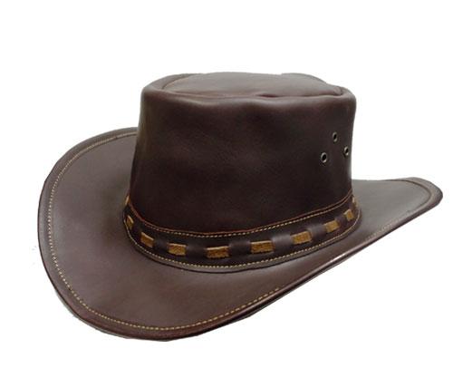 送料無料 CHRISTYS LONDON クリスティーズ ロンドン 25071 LEATHER COWBOY 茶 帽子 カウボーイハット 牛革 高級 イギリス製 紳士 婦人 メンズ レディーズ 男女兼用 あす楽