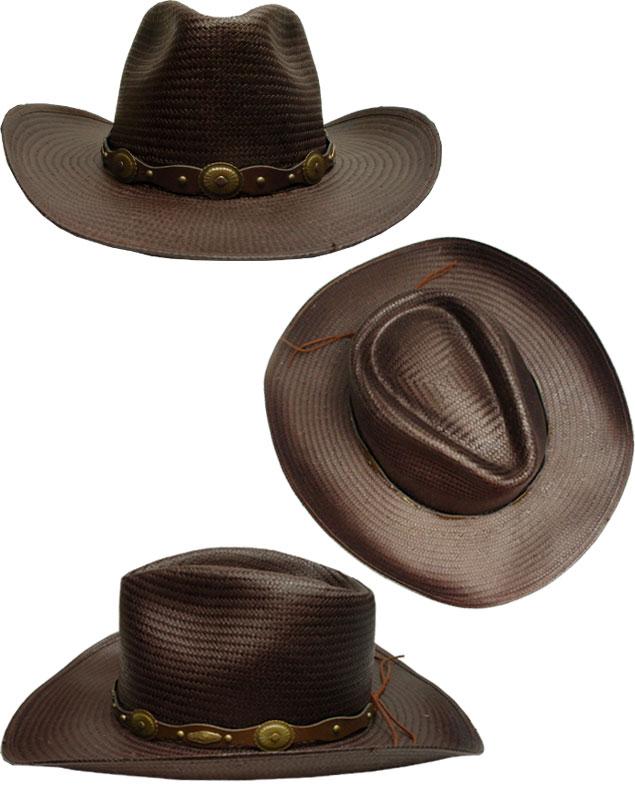 prast-inc  STETSON Stetson Western hats ST831 Dark Brown Natural ... 85862219b12