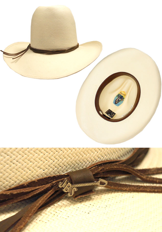 6d80acc3d STETSON Stetson GUS ST112 gas natural American Central Hat straw hat caps  collar length Fedora cowboy hats luxury awning unisex men women