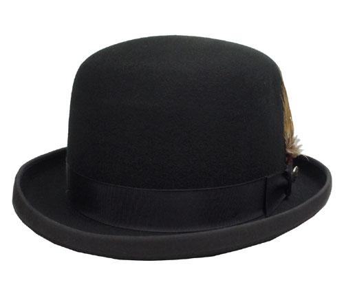 帽子 ステットソン STETSON ST978 DERBY WOOL ダービーウール ボーラー ハット 黒 USA 高級 日よけ メンズ レディース