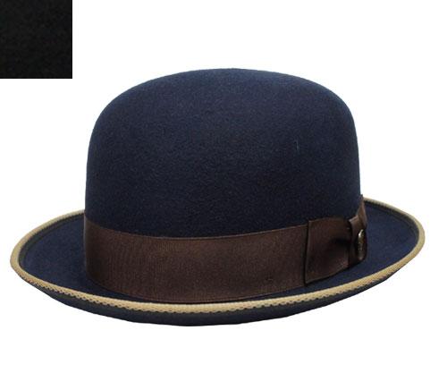 帽子 ステットソン STETSON ST990 BOKETTO ボケット ボーラー ハット 紺 黒 USA 高級 日よけ メンズ レディース