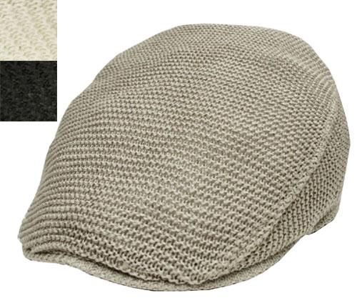 帽子 ステットソン STETSON SE101 ニット ハンチング グレー 黒 オフホワイト日本製 高級 メンズ レディース