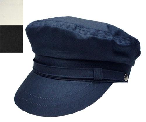 prast-inc: Marine Cap Navy white black made in Japan Navy black and