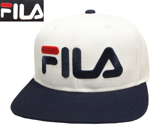 FILA Fila FLB TC SNAP BACK WHITE BLACK baseball cap cap hat men gap Dis man  and woman combined use 6e07041aa7e