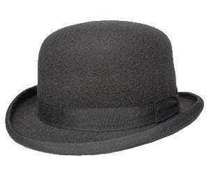 送料無料 CHRISTYS LONDON クリスティーズ ロンドン 24270 WOOL FELT DERBY ウール フェルト ダービー グレー 帽子 フェルトハット ボーラー ハット メンズ レディース 男女兼用 ギフト