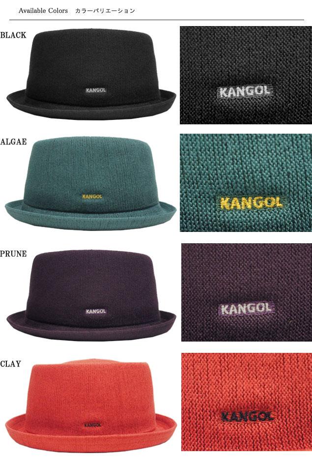 cd3300ea683 KANGOL KANGOL Hat pork pie Hat MOWBRAY BAMBOO bamboo Mowbray Black mesh mens  Womens