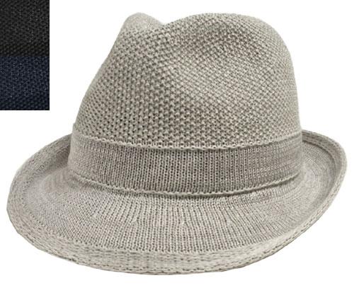 LACOSTE ラコステ マニッシュハット L3523 グレー 黒 紺  中折れ 帽子 紳士 婦人 メンズ レディース 男女兼用 あす楽