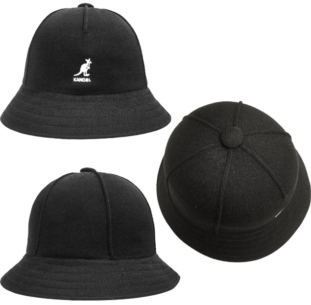 8a69ff30e Perception goal KANGOL Tropic Seamed Casual Black black casual street  ultraviolet rays preventive hat men gap Dis man and woman combined use