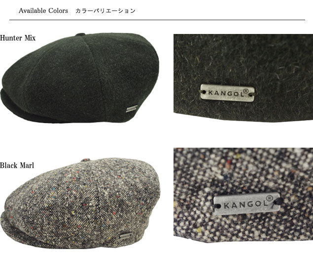 Casquette men gap Dis man and woman combined use made in KANGOL Tweed Ripley  perception goal tweed replay Hunter Mix Black Marl Italy cd027cdceca