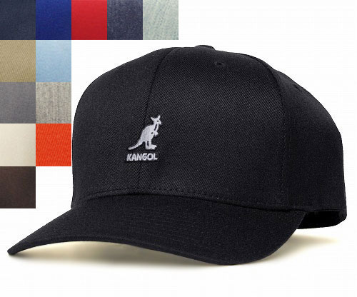 99530cb3c1b KANGOL WOOL FLEXFIT BASEBALL KANGOL wool Flex fit baseball Black Beige Navy  DKFlannel White Brown caps baseball hat Cap Baseball head gear mens Womens  ...