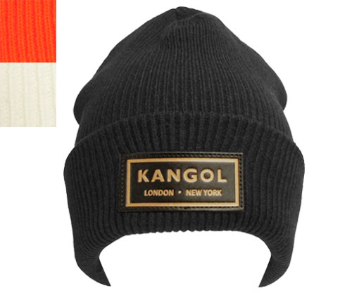 KANGOL perception goal Gold Beanie gold beanie Black White Safety knit hat  gentleman woman men gap Dis man and woman combined use gift 55885767486