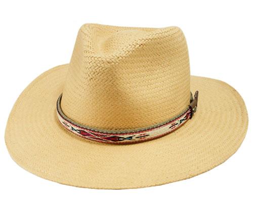 ベイリー Bailey Derian デリアン 176-154033 5001BH 帽子 ハット ストロー 中折れ ネイティブアメリカン 紳士 婦人 メンズ レディース 送料無料