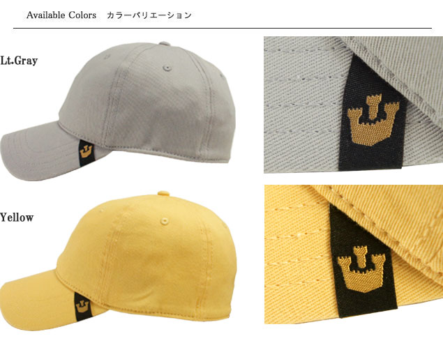The size unisex that stone phosphorus hat cap Goorin SLAYER Lt.Gray Yellow  men gap Dis plain fabric has a big 1e34fcd20bf2