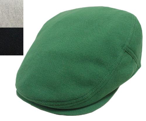 送料無料 LACOSTE ラコステ 鹿の子 ツイル ハンチング L1013 グリーン グレー 黒 紫外線対策 紳士 婦人 メンズ レディース 男女兼用 あす楽