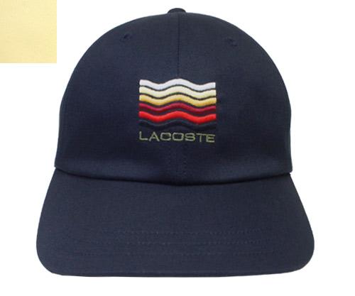 b4529dfc LACOSTE Lacoste Katsuragi cap L1108 yellow dark blue hat baseball cap  crocodile wave gentleman woman men ...