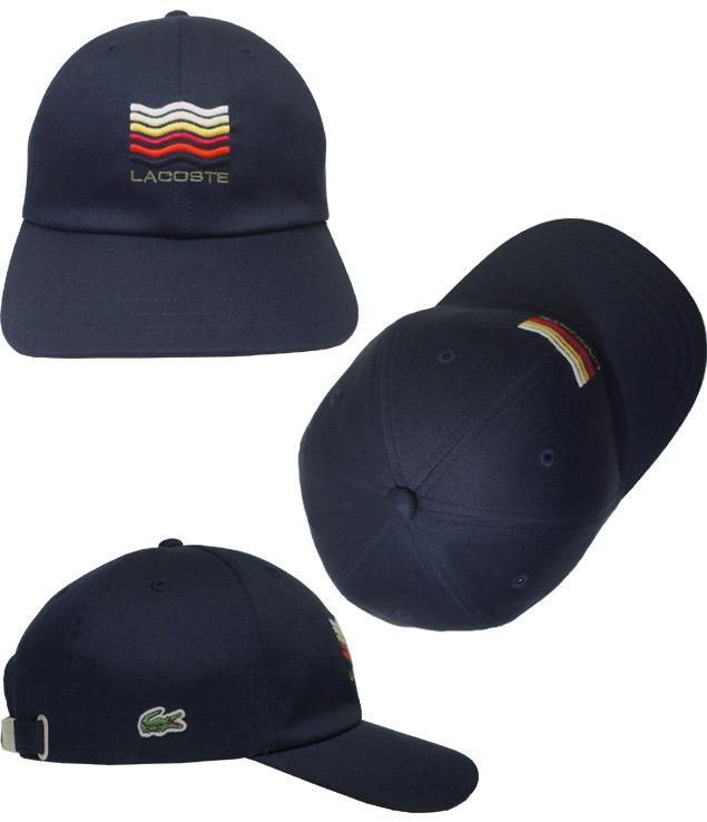 129d4462 prast-inc: LACOSTE Lacoste Katsuragi cap L1108 yellow dark blue hat ...