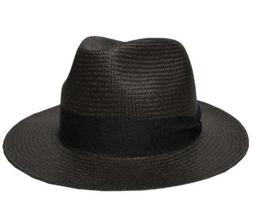 帽子 ステットソン STETSON ST558 Memphis クロ ストローハット 中折れ エクアドル製 高級 メンズ レディース