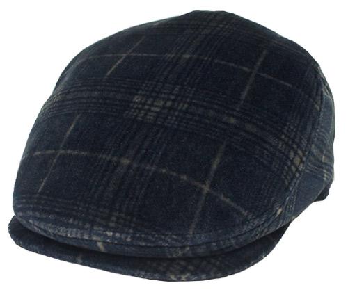 ダックス DAKS D3701 サイドフリーハンチング ハンチング ネイビー 帽子 チェック 紳士 婦人 メンズ レディース ギフト あす楽