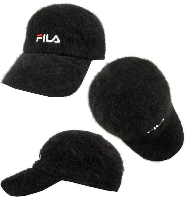 prast-inc  Fila FILA FLS ANG MIX LOGO CAP BLACK 168 113 801 fur cap ... df2ef5fe4cb