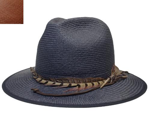帽子 ステットソン STETSON SE520 パナマハット 紺 ナチュラル エクアドル製 マニッシュ 中折れ メンズ レディース