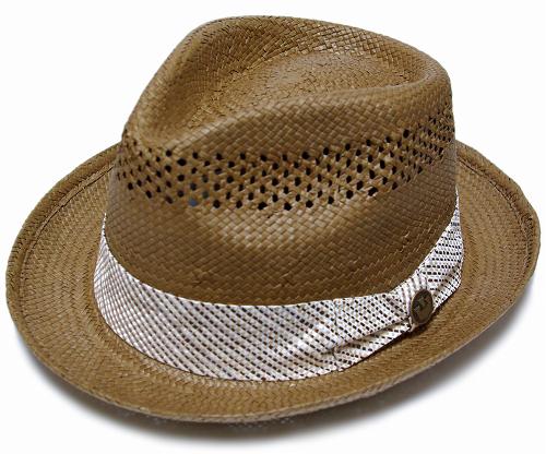 BUTCH Goorin (Guerin) straw hat, Brown