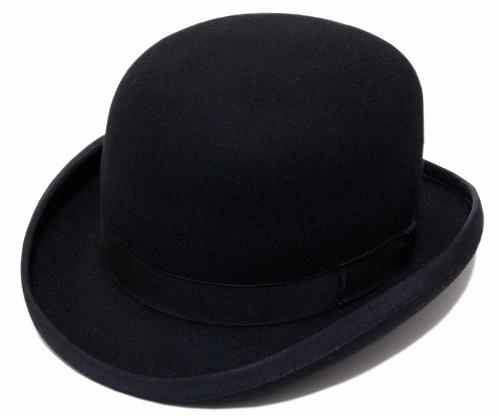 送料無料 CHRISTYS' LONDON クリスティーズロンドン フェルトダービーハット WOOL FELT DERBY Black 24270 帽子 ハット 紳士 婦人 メンズ レディース 男女兼用 ボーラー