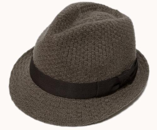送料無料 Borsalino ボルサリーノ マニッシュハット B9893 ブラウン 帽子 ハット 中折れハット メンズ レディース 男女兼用 あす楽