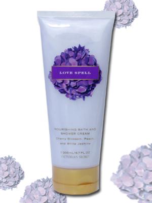 VICTORIA's SECRET Garden Collection (Victoria's secret garden collection)  Bath & Shower Cream (bath & shower cream)-Love Spell (love spell)-