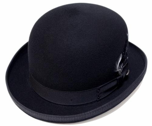 帽子 ダービーハット フェルト ベイリー Bailey Hollywood Series 3816 DERBY Black 送料無料