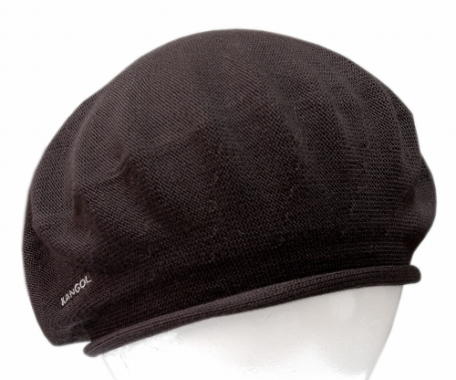 e2410e5d KANGOL BAMBOO BERET KANGOL bamboo beret, Brown [Hat beret Hat mens ladies  men's women's ...
