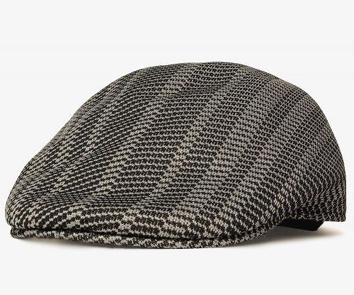 KANGOL JACQUARD 507 カンゴール ジャガード507Twill Stripe Black帽子 ハンチング メッシュ ヘッドギア メンズ レディース 男女兼用wXPO8n0Nk