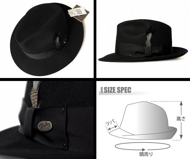 bd55600088674 prast-inc  Bailey Bailey Hollywood Series hats felt hats 3814 ...