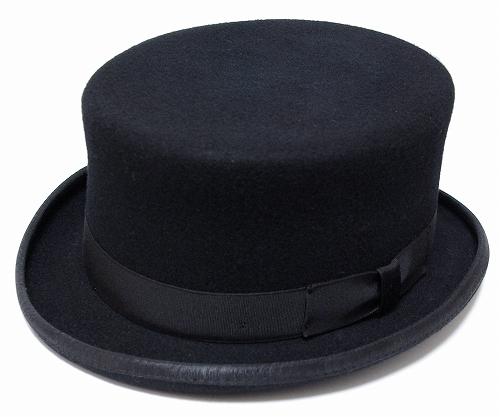 ニューヨークハット New York Hat フェルトトップハット 5014 THE GENT Black 大きなサイズ メンズ レディース 紳士